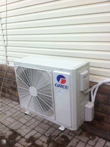 Instalacja klimatyzatora na piwnicy