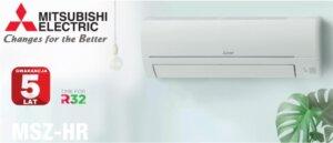 Klimatyzatory Mitsubishi Electric, seria HR