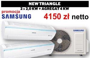 Klimatyzator multi-split Samsung serii Triangle