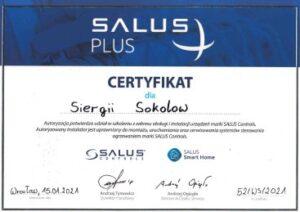 Certyfikat Salus Privatmaster 2021