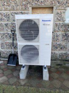 Pompa ciepla Panasonic Aquarea 9kW jednofazowa Wroclaw